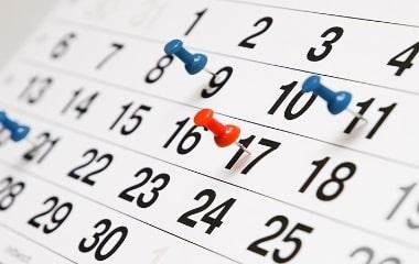 Календар Турів